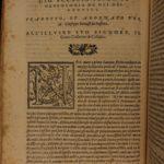 1569 Genealogy of the Gods Italian Renaissance Boccaccio Pagan Occult Mythology