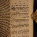 1634 History of HUNGARY Military Holy Roman Ottoman Empire ELZEVIR Transylvania