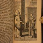 1715 Turkish Spy Ottoman Persian Empire Constantinople Turkey Illustrated 6v SET