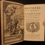 1699 1st ed French Sun King Louis XIV Laws France Versailles Bourbon Navarre