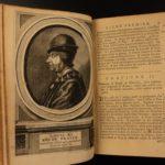 1723 Memoires of Philippe Commines King Louis IX France Political Philosophy SET