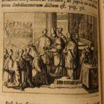 1735 1st ed Cardinal Annibale Albani Catholic Rites Liturgy Pontificale Romanum