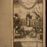 1721 Thomas Gage Caribbean Voyages MEXICO Spanish Colonization MAP Panama