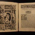 1569 Life of Genoa Admiral Andrea Doria Italian Mercenary Holy Roman WARS Naples