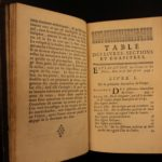 1695 Bernard Lamy Geometry Elements of Euclid Mathematics Archimedes of Syracuse
