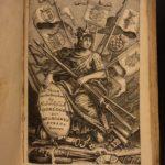 1655 Famiano Strada History of DUTCH Revolt Charles V Holy Roman Empire WARS