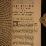 1693 1st ed Louis of Bourbon Prince of Conde France WAR French Battles 2v Set