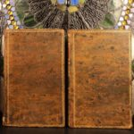 1810 1st ed RARE Library Manual Brunet Bibliography Dictionary Incunable 2v SET