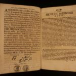 1697 1ed Papal Bulls Holy Roman Empire Charles IV Constantine Gold Silver Metals