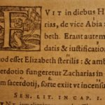 1596 1st ed Bible & Commentary of Portuguese JESUIT Manuel de Sa Plantin Press