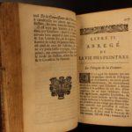 1699 1ed Lives of Famous Painters ART Roger de Piles Da Vinci Michelangelo Durer