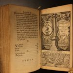 1634 Byzantine Ottoman Turkey CONSTANTINOPLE Tunisia ELZEVIER 2in1 Laet & Gilles