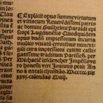 1519 Summa Virtutum William Perault Post Incunable Dominican Monk VIRTUES Ethics