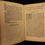 1575 History of Genoa ITALY Foglietta Italian Genova Milan Economics Politics