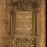 1589 1st Pope Sixtus V Vatican City ROME Italy Pinadello Illustrated Portraits