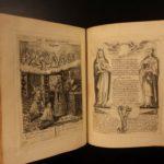 1651 1ed Paintings of the Cross Illustrated Engravings Gheyn Manuscript Prayers