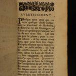1696 Cardinal Richelieu French Catholic Church ARMORIAL PROVENANCE Binding SET
