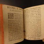 1617 MINIATURE Aphorisms of HIPPOCRATES Greek Medicine Remedies Surgery Health