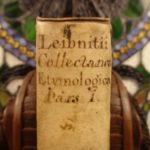 1717 Gottfried Wilhelm von Leibniz on Language Etymology Celtic Teutons Druids