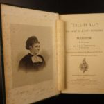1874 1st ed Tell it All Stenhouse Life in Mormonism LDS Polygamy Mountain Meadow