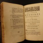 1697 Jesuit Le Comte Journey in CHINA Illustrated Chinese Rites Confucius Asia