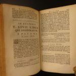 1664 1st ed LIVY Ab Urbe Condita History of ROME Augustus Caesar ELZEVIR 3v SET