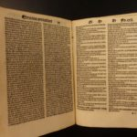 1507 Peter Lombard Medieval Four Books of Sentences Theology Post Incunable RARE