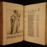 1699 1st ed Melis Stoke Rijmkronijk Murder of Floris V First Dutch Language Book