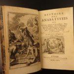 1695 1ed Anabaptists Illustrated Protestant Quakers Mennonites Baptists Baptism