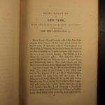 1845 1st American ed History of New York City Daniel Denton Colonial Americana