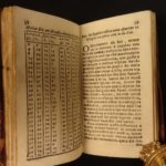 1733 Portuguese Almanac ASTROMONY Diary King of Portugal Lisbon FINE BINDING