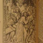 1875 1ed Catholic Book of Hours ENTIRELY Illustrated Queyroy Art Fine BINDING