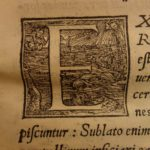 1550 1ed Catholic Church Proportione Papacy ad Concilium Council of Trent Popes