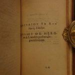 1584 1st ed GREEK Poetry Georgics Bucolics Gnomics Jean Crespin Geneva 3v SET