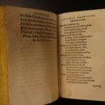 1565 1ed Saint Justin Martyr Logos Early Church +  Sigmund Gelen of Bohemia RARE