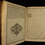 1727 King Louis XV France Coat-of-Arms Illustrated Holy Week Catholic Breviary