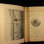 1894 1st ed Athletics & FOOTBALL Soccer England Australia Rugby Illustrated