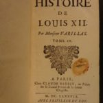 1688 1st ed History of Louis XII King of France Naples Milan Italian WARS 6v SET