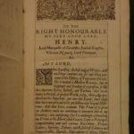 1650 1ed ENGLISH FOLIO Famiano Strada Eighty Years War Belgium Netherlands RARE