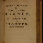 1698 1ed Luyken Illustrated Famous Executions Torture England DUTCH van den Bos