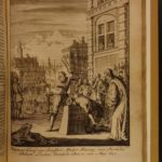 1698 1ed Luyken Illustrated Famous Executions Torture England DUTCH van den Bos