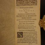1643 History of Czech Republic BOHEMIA Prague Tolerance ELZEVIR Pavel Stransky