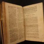 1637 John Calvin Institutes of Christian Religion Calvinism Protestant GENEVA