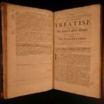 1694 1st ed Malebranche Philosophy Search After Truth Nature & Grace Metaphysics