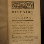 1788 1st ed History of Sumatra Indonesia William Marsden Voyages 2v SET Asia
