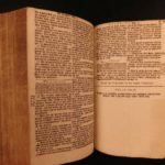 1780 Dutch Reformed Netherlands HOLY BIBLE Statenbijbel 1st trans from Hebrew