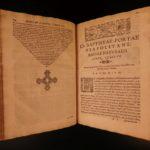 1589 Magiae Naturalis by Porta Magic Alchemy Poison Gunpowder Occult Witches