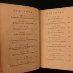 1793 Commentaries on the Laws of England William Blackstone Civil LAW Portraits