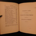 1857 1ed Battle of Otterburn in 1388 Scotland England Ballad of Chevy Chase MAP