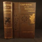 1882 1st ed Chapbooks Folklore Legends Superstition Illustrated Woodcuts Ashton